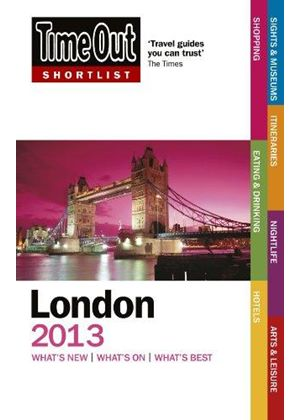 Time Out Shortlist London 2013