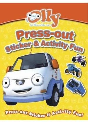 Olly The Little White Van Press-Out Sticker & Activity Fun