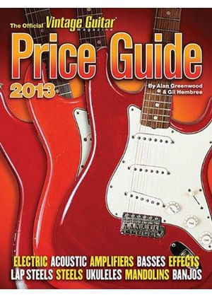 2013 Official Vintage Guitar Magazine Price Guide