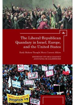 Liberal-Republican Quandry In Israel, Europe And The United States