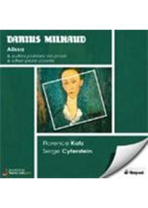 Darius Milhaud - Alissa And Other Prose Poems