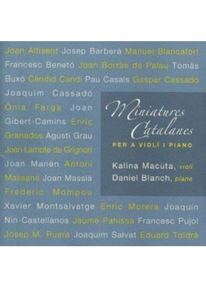 Miniatures Catalanes (Music CD)