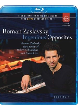 Ingenious Opposites, Vol. 1: Schumann, Liszt (Music CD)