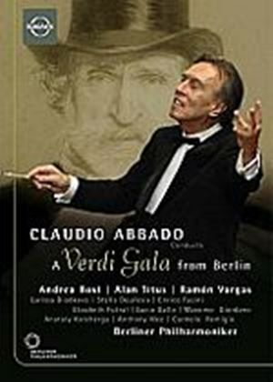 Claudio Abbado - A Verdi Gala From Berlin (Various Artists)