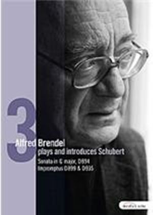 Alfred Brendel Plays And Introduces Schubert - Piano Works Vol.3