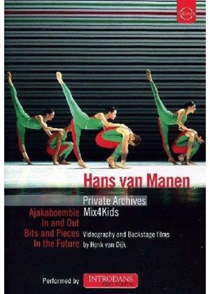 Hans van Manen: Private Archives; Mix4Kids (Music CD)