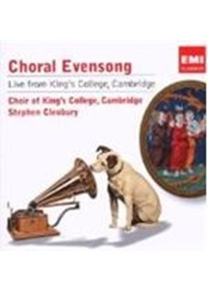 VARIOUS COMPOSERS - Choral Evensong Live From King's College (Cleobury)