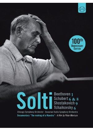Solti conducts Beethoven & Schubert (Music CD)