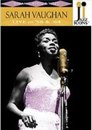 Jazz Icons - Sarah Vaughan - Live In 58 And 64