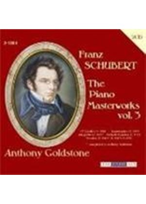 Schubert: Piano Masterworks, Vol 3