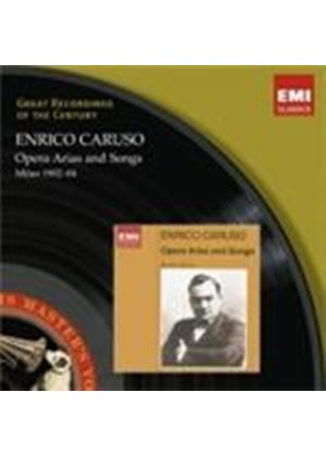 Enrico Caruso - Opera Arias and Songs (1902 - 1904) (Music CD)