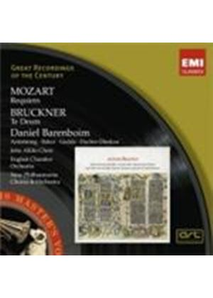 Mozart: Requiem; Bruckner: Te Deum (Music CD)