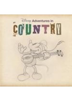 Various Artists - Disney Adventures In Country (Music CD)