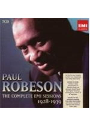 Paul Robeson - The Complete EMI Sessions 1928 - 1939