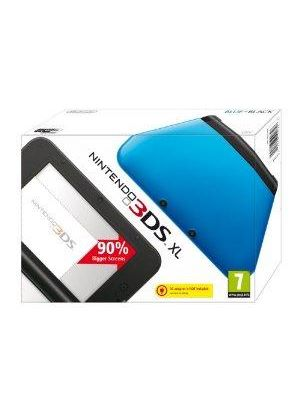 Nintendo 3DS XL - Blue/Black Console (Nintendo 3DS)