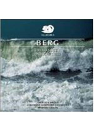 ALBAN BERG - Lulu Suite, Lyrische Suite (Gielen, Cincinnati SO)