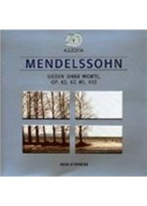 Felix Mendelssohn - Songs Without Words (Kyriakou)