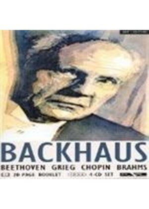 WILHELM BACKHAUS - Wilhelm Backhaus Performs
