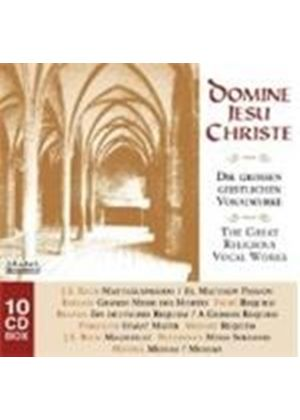 Domine Jesu Christe - (The) Great Religious Vocal Works