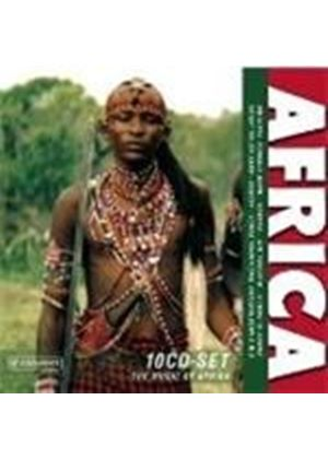 Various Artists - MUSIC OF AFRICA 10CD (IMPORT)