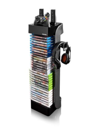 Level Up RT Gaming Storage Tower (PS3, Xbox 360/Wii/PC DVD)