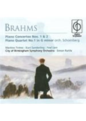 Brahms: Piano Concertos Nos 1 & 2 (Music CD)