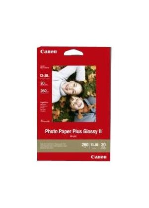 Canon Photo Paper Plus II PP-201 - Glossy photo paper - 130 x 180 mm - 260 g/m2 - 20 sheet(s)
