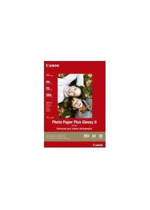 Canon Photo Paper Plus II PP-201 - Glossy photo paper - A4 (210 x 297 mm) - 260 g/m2 - 20 sheet(s)