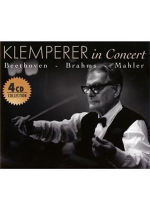 Klemperer in Concert: Beethoven, Brahms, Mahler (Music CD)