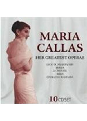 Maria Callas - Her Greatest Operas [10 CD Set] [ German Import]