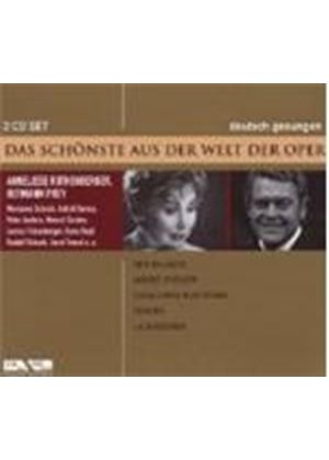 VARIOUS COMPOSERS - Der Bajazzo/Andre Chernier/Fedora (Rothenberger)