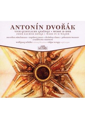 Antonín Dvorák: Four Sacred Songs; Mass in D major (Music CD)