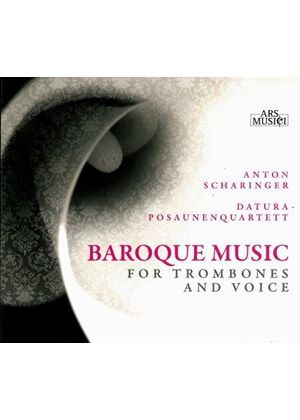 Baroque Music for Trombones and Voice (Music CD)
