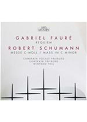 Fauré: Requiem; Schumann: Messe C-moll (Music CD)