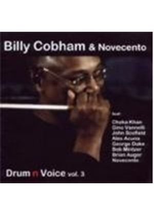 Billy Cobham & Novecento - Drum 'n' Voice Vol.3 (Music CD)