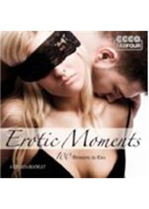 Various Artists - Erotic Moments - 100 Reasons To Kiss (Music CD)