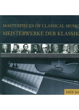 Masterpieces of Classical Music (Music CD)