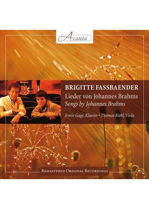 Brahms: Lieder (Music CD)