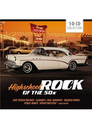 Various Artists - Highschool Rock of the 50's (Music CD)
