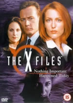 The X Files - Nothing Important Happened Today (Wide Screen)