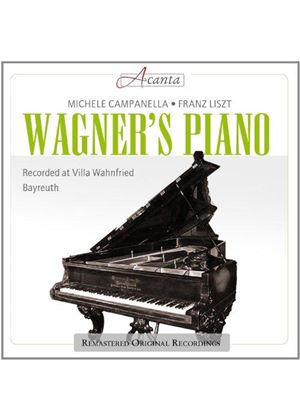 Wagner's Piano (Music CD)