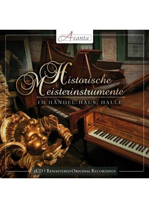 Historical Master Instruments: Harpsichord, Early Piano & Clavichord (Music CD)