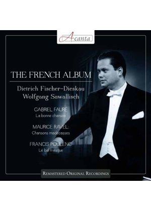 French Album: Fauré, Ravel & Poulenc (Music CD)