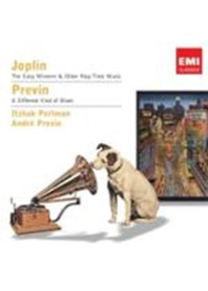 Joplin: (The) Easy Winners and Other Rag-Time Music; Previn: (A) Different Kind of Blues (Music CD)