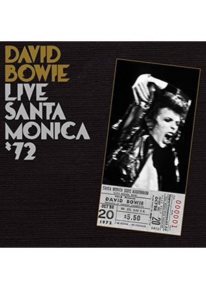 David Bowie - Live In Santa Monica 1972 (Music CD)