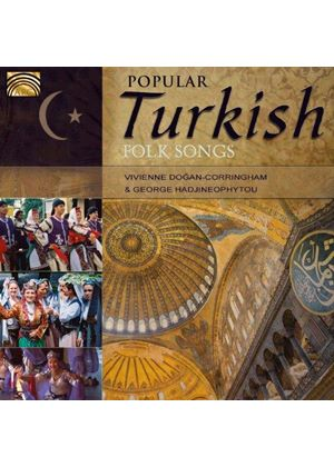 Dogan-Corringham/Hadjineophyto - Popular Turkish Folk Songs (Music CD)