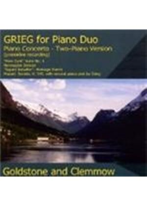 Grieg: Works for Piano Duo
