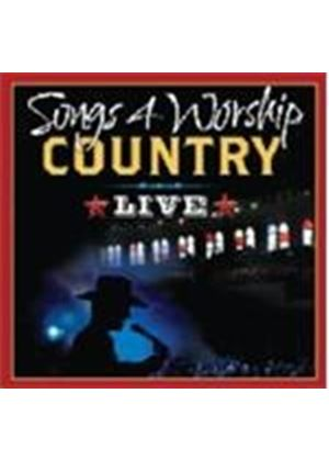 Various Artists - Songs 4 Worship - Country Live (Music CD)
