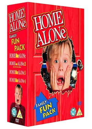 Home Alone 1-4 Box Set (4 Discs)
