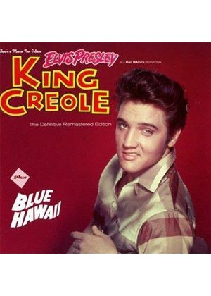 Elvis Presley - King Creole + Blue Hawaii (Music CD)